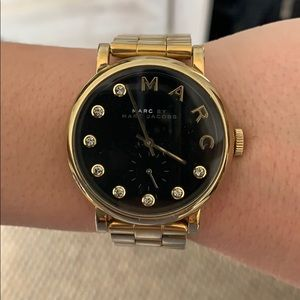Small gold Marc Jacobs watch
